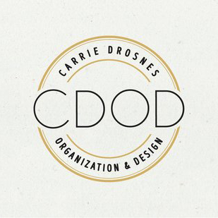 Carrie Drosnes Organization and Design